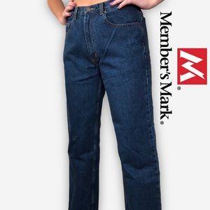 Member's Mark Straight Leg Jeans in Dark Wash